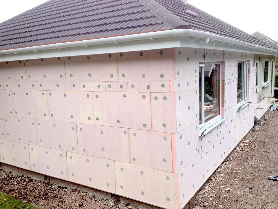 External House Insulation : External insulation macgillivray construction joinery